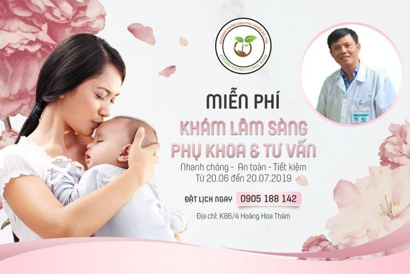 Phòng khám Sản Phụ khoa BS Phan Tín _ BV Phụ Sản - Nhi Đà Nẵng