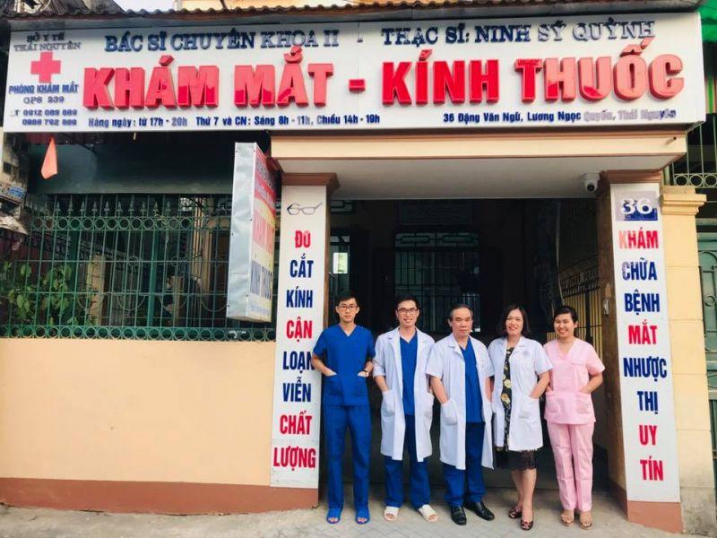 Phòng khám chuyên khoa Mắt - Bác sĩ NINH SỸ QUỲNH