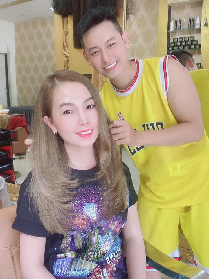 """Salon nhuộm tóc tại Cà Mau: """"Hair Salon - Make Up SANG BLUE"""""""