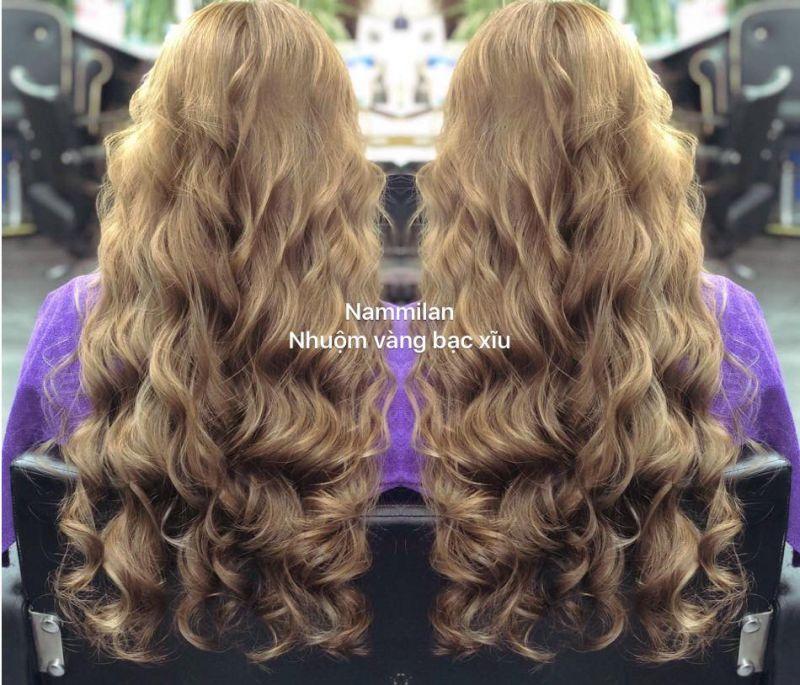 Tạo mẫu tóc NamMilan