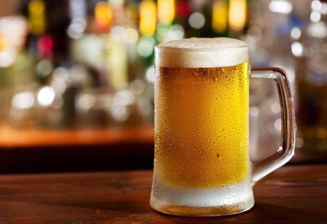 Vườn bia tươi kênh chà là