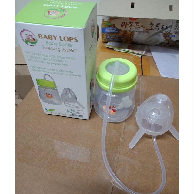 Bình sữa rảnh tay Baby Lops