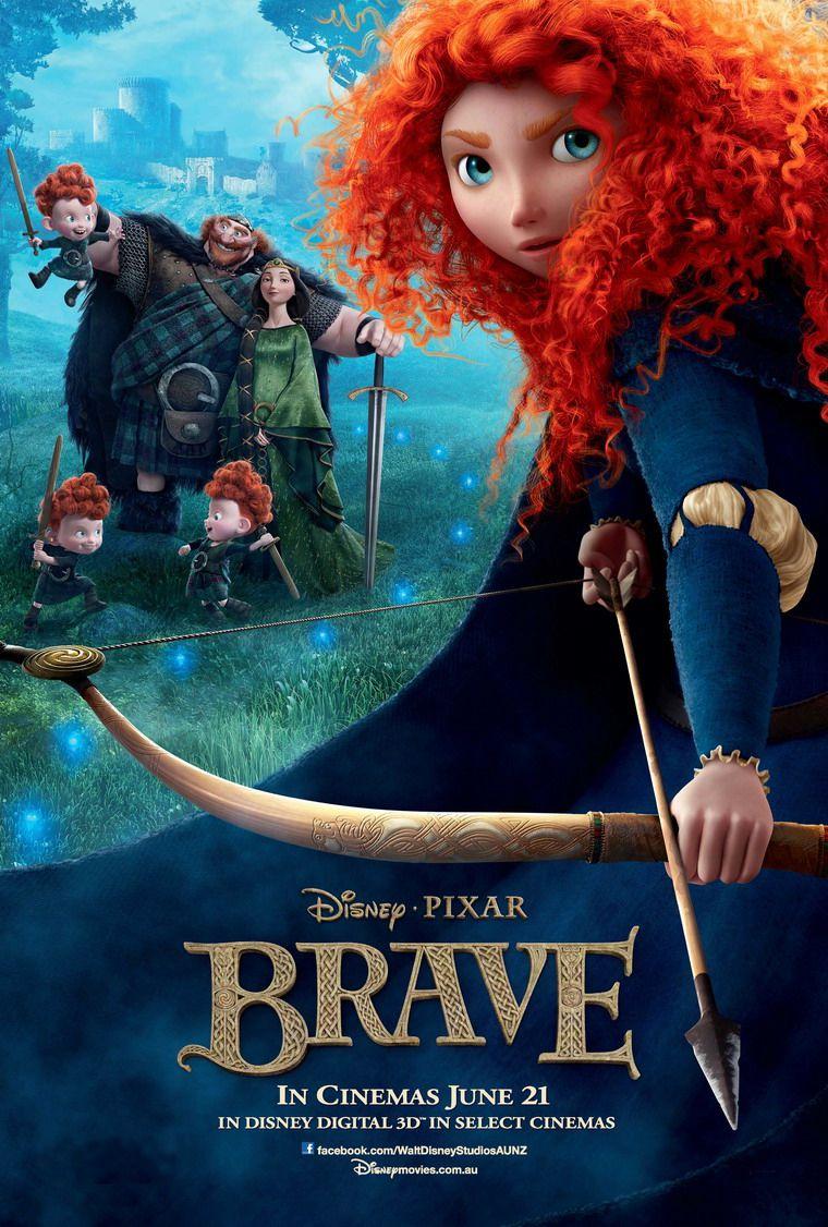 Brave (Công chúa tóc xù) - 2012