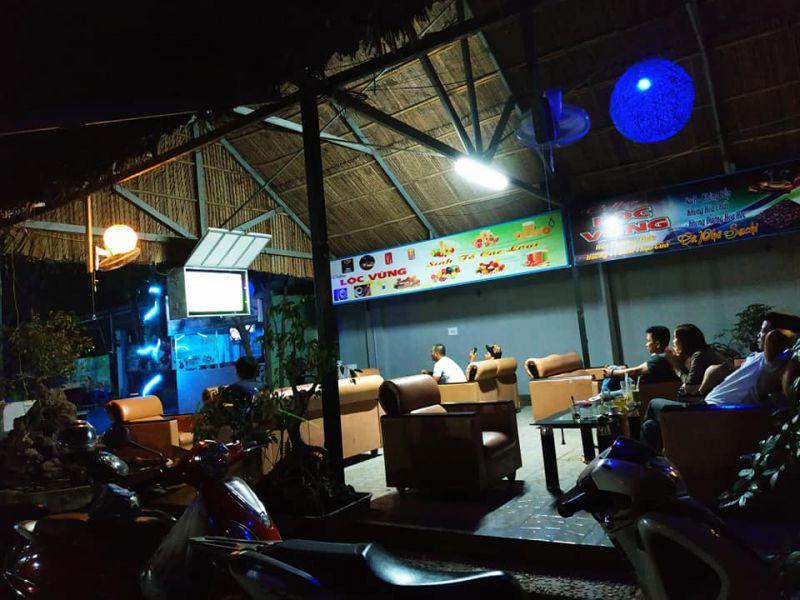 Cafe Sân Vườn Lộc Vừng
