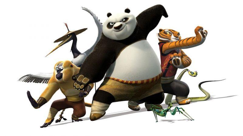 Kung Fu Panda (Gấu trúc kung fu) - 2008