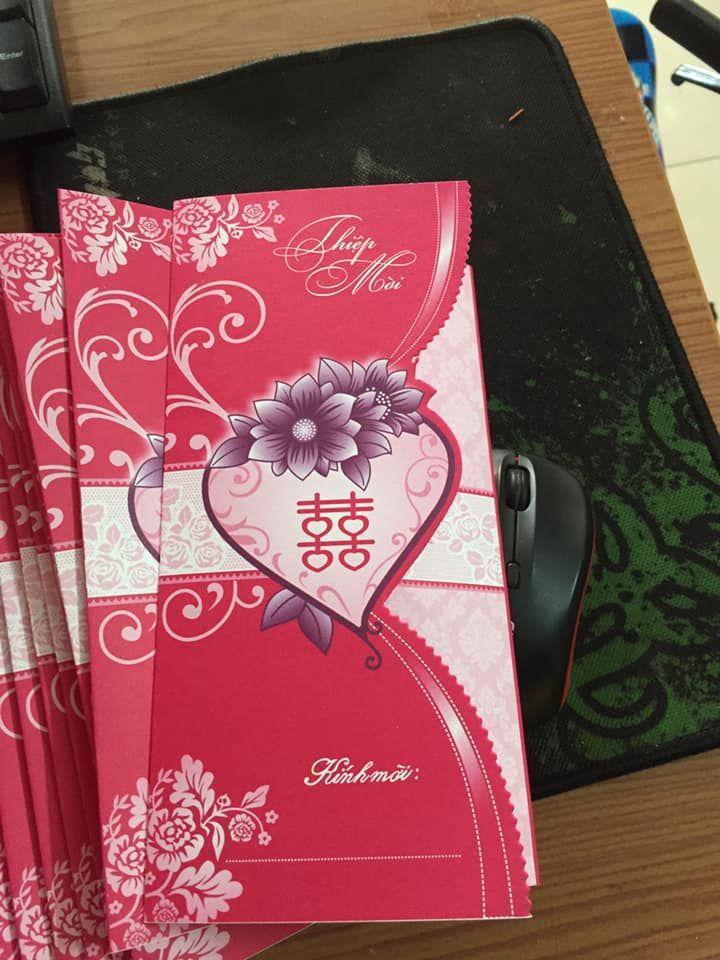 Thiệp cưới Đô Phương