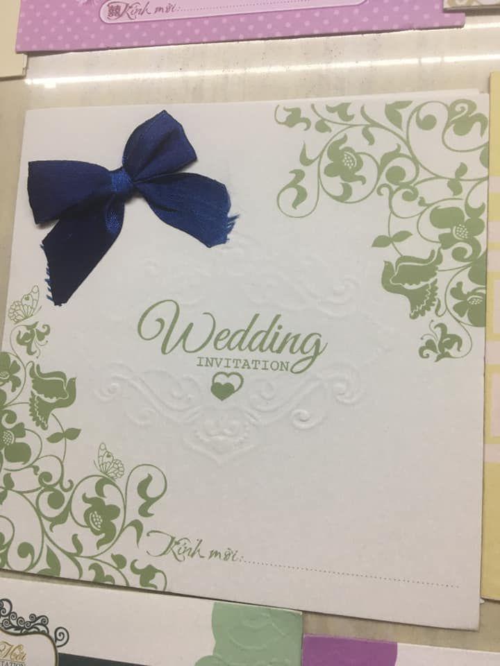 Thiệp cưới Mạnh Thu