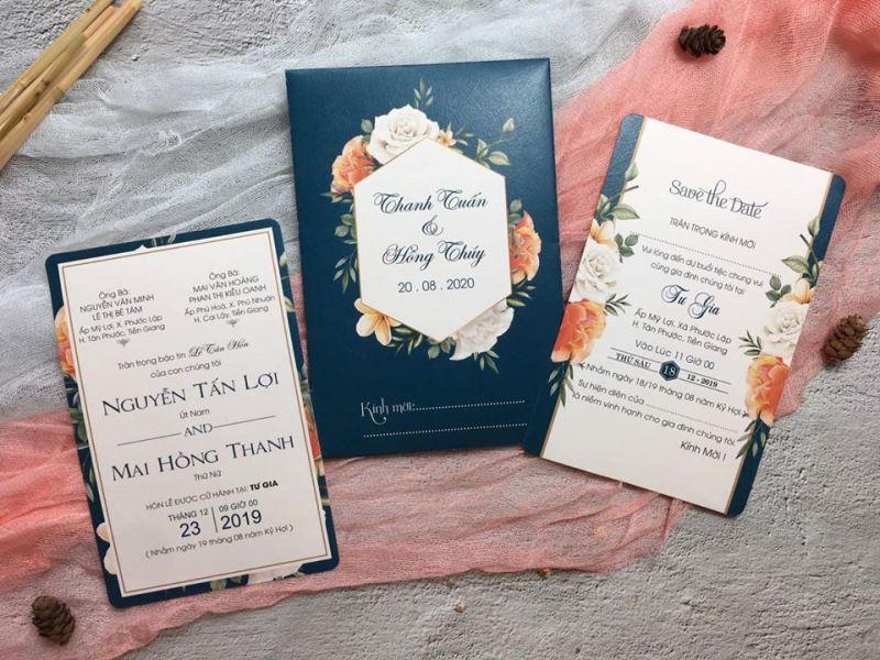 Thiệp cưới Song Hỷ
