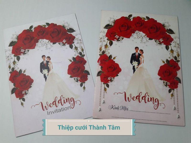 Thiệp cưới Thành Tâm - Quảng Ngãi