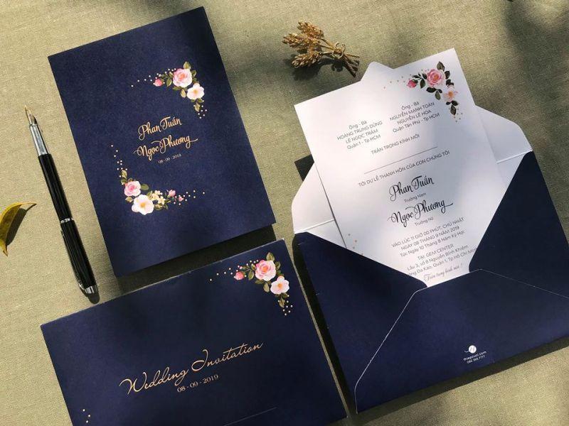 Thiệp cưới Việt Hà - thiepcuoicom
