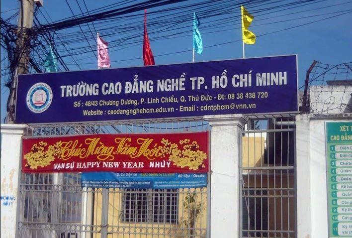 Trường Cao Đẳng Nghề Thành Phố Hồ Chí Minh