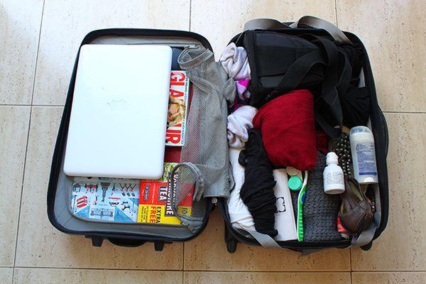 Chuẩn bị đầy đủ hành lý cho chuyên đi Nhật