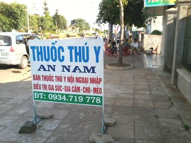 Dịch vụ thú y Nam An Pleiku