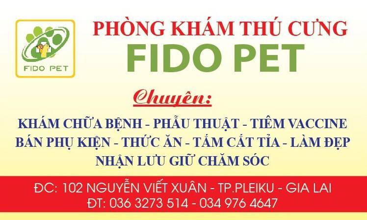 Phòng Khám Thú Cưng FIDO PET Gia Lai