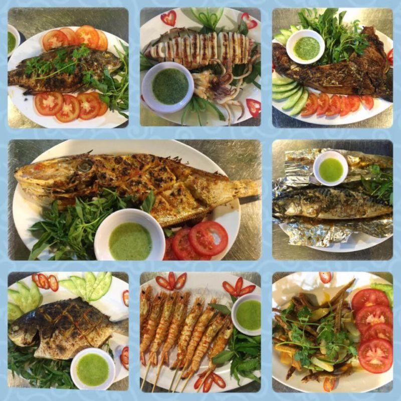 Cá Biển Nướng Vĩnh Khánh