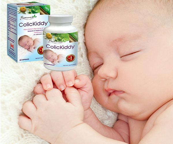 ColicKiddy giúp bé hết khóc dạ đề và quấy khóc đêm