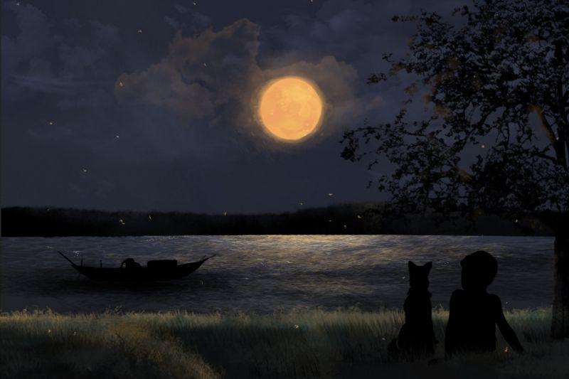 Dàn ý bài văn tả một đêm trăng đẹp số 10