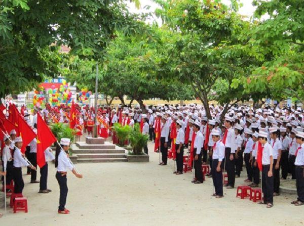 Dàn ý tả buổi lễ chào cờ đầu tuần số 5