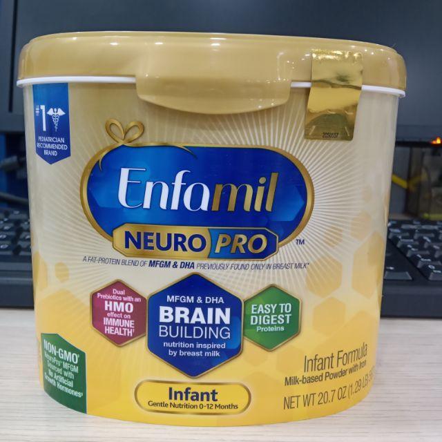 Enfamil NeuroPro Infant Formula, 0 - 12 tháng, 587g