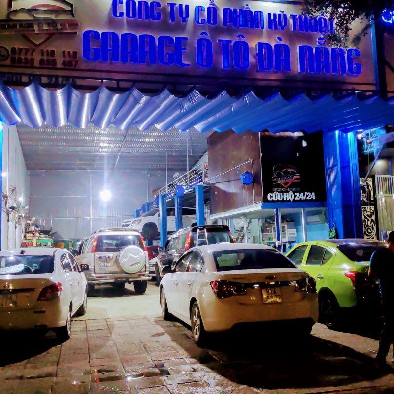 Garage ô tô Đà Nẵng