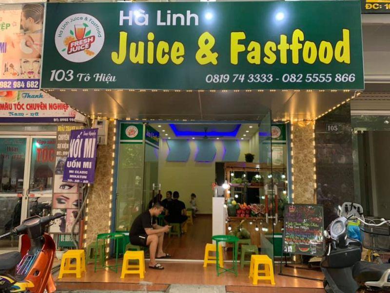 Hà Linh Juice & Fastfood