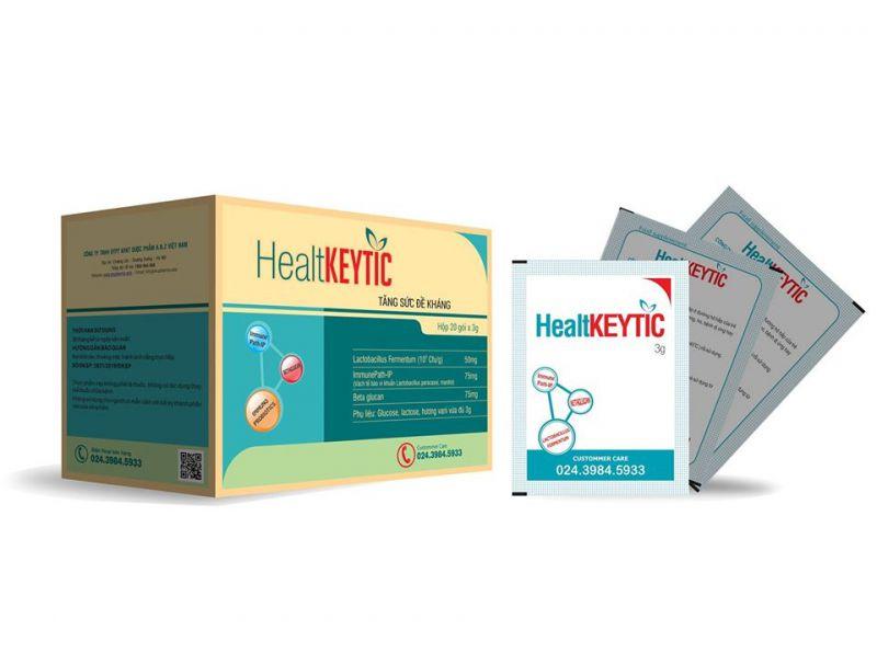 Healtkeytic - Tăng sức đề kháng tự nhiên