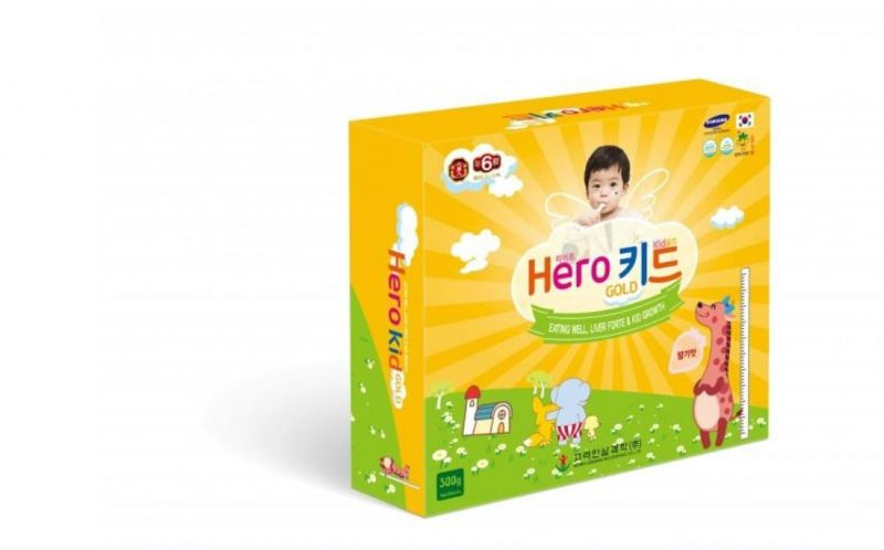 Herokid Gold – Bí quyết tăng đề kháng, giúp trẻ ăn ngon từ Hàn Quốc