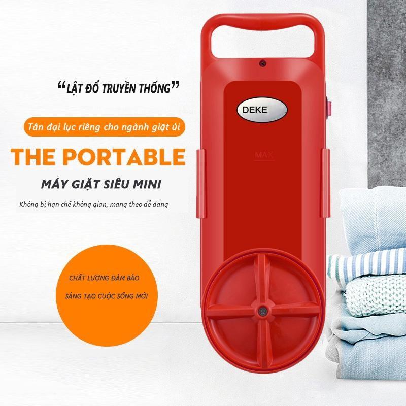 Máy giặt mini tại xô Deke GT-16AC