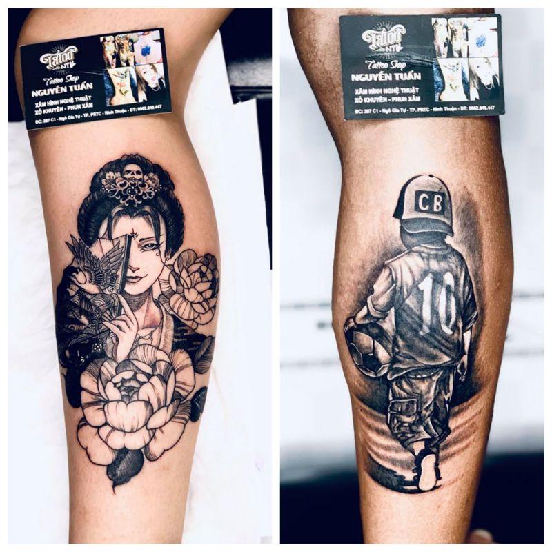 Nguyễn Tuấn tattoo