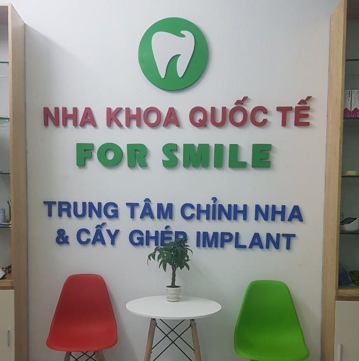 Nha Khoa Quốc Tế For Smile tại Lục Ngạn