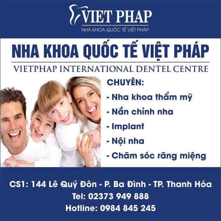Nha Khoa Quốc Tế Việt Pháp - Thanh Hóa