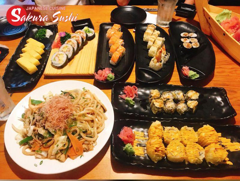 Nhà hàng Sushi Sakura 2