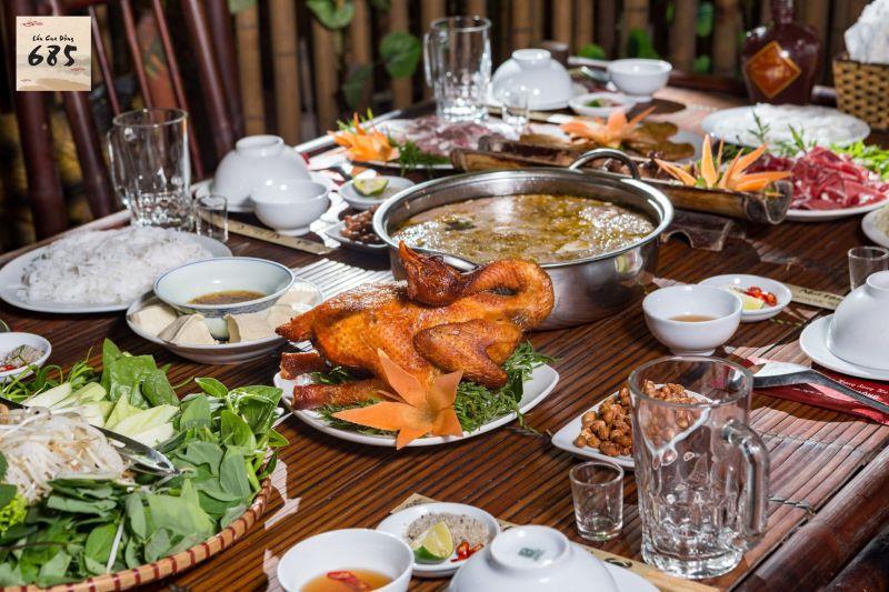 Nhà hàng lẩu cua đồng Song Hà