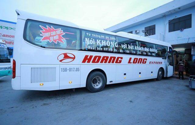 Nhà xe Hoàng Long