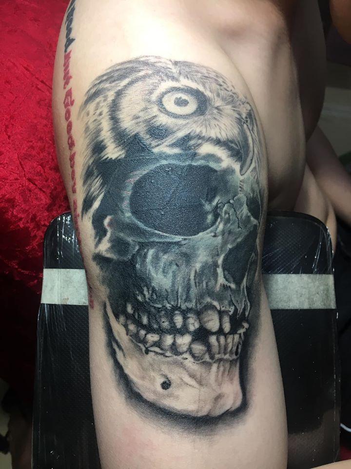 Nhân Gà Tattoo
