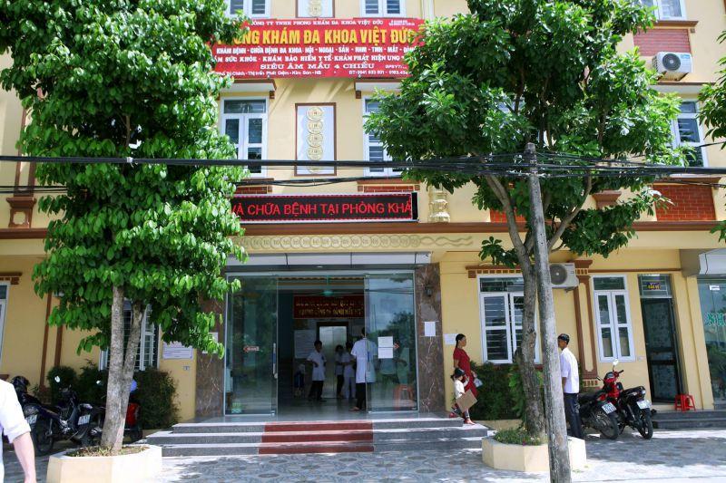 Phòng Khám Đa Khoa Việt Đức