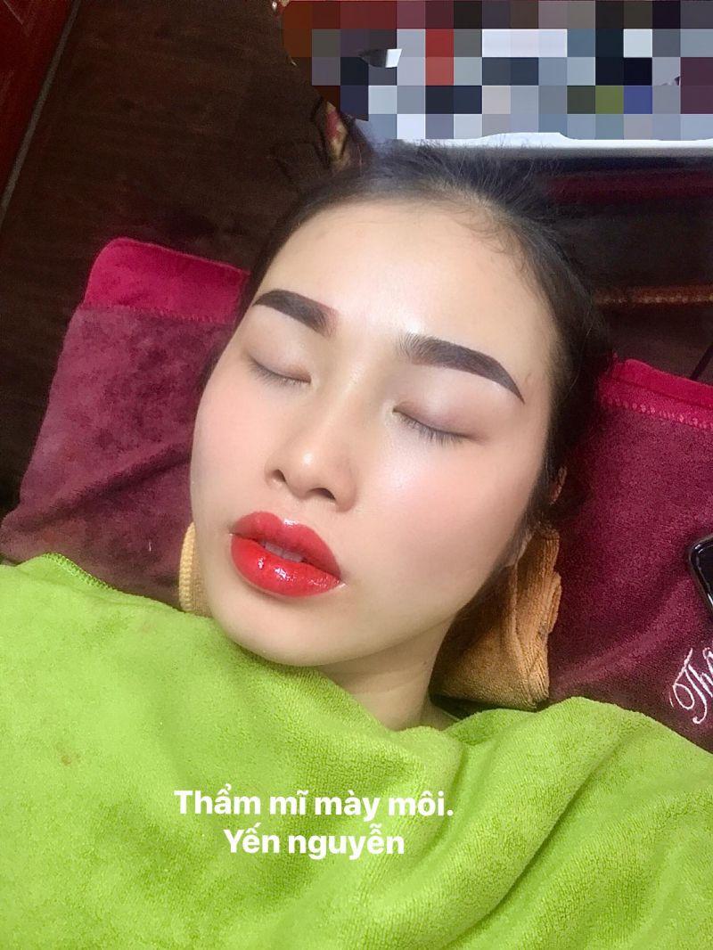 Phun xăm thẩm mỹ Yến Nguyễn