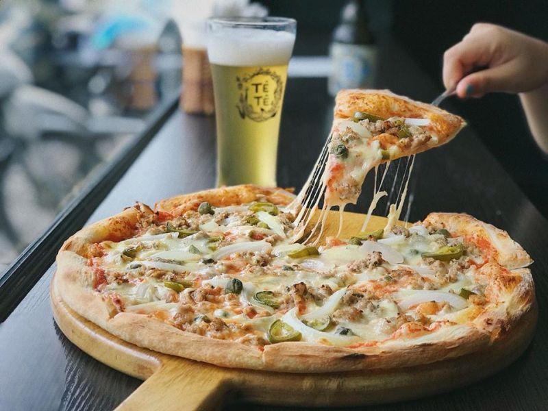 Pizza & Bia
