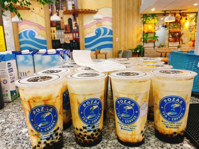 Pozaa Tea Thuận An Bình Dương