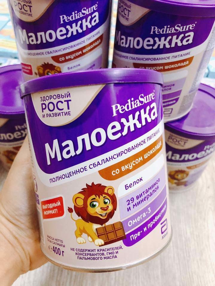Sữa Bột Pediasure Của Nga