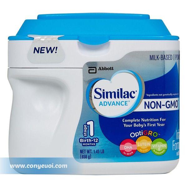 Sữa Similac Advance Non GMO