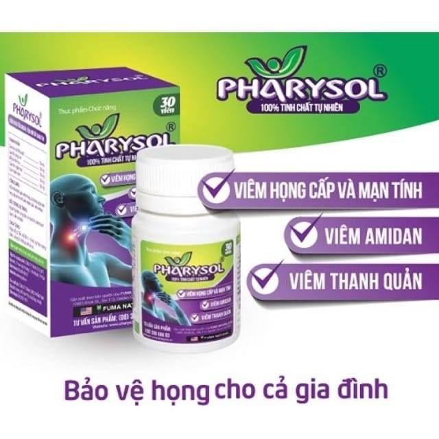 Thực phẩm bảo vệ sức khỏe Pharysol