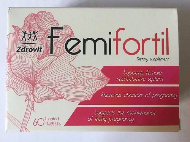 Thực phẩm chức năng Femifortil