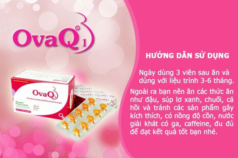 Thực phẩm chức năng OvaQ1