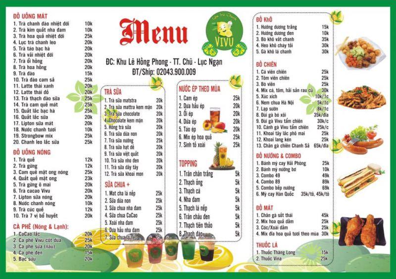 Tiệm Trà Chanh Vivu