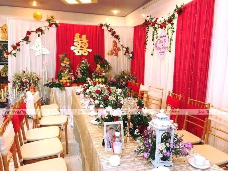 Trang Trí Tiệc Cưới Bình Thuận Sea Wedding