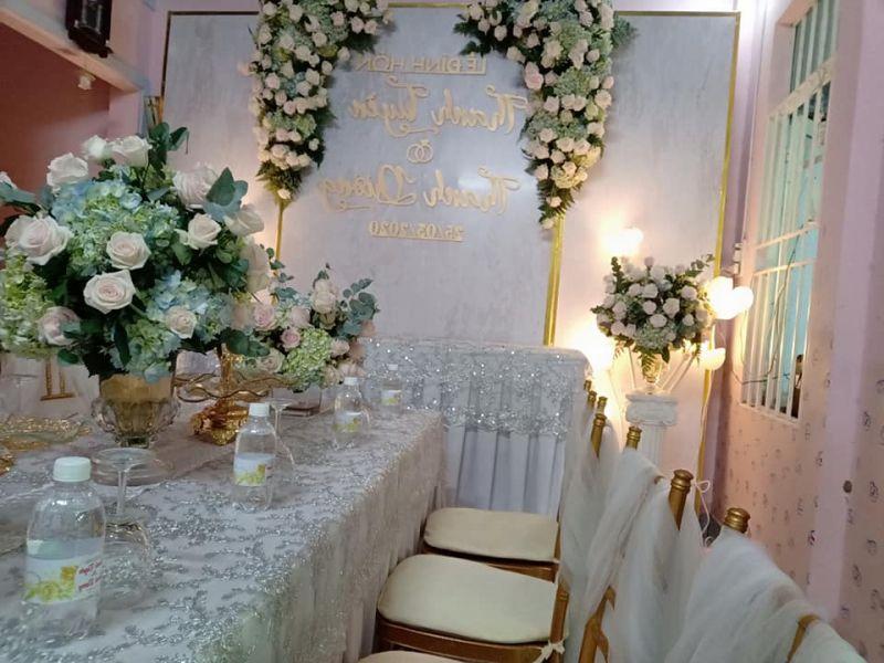 Trang trí tiệc cưới Duy Luân