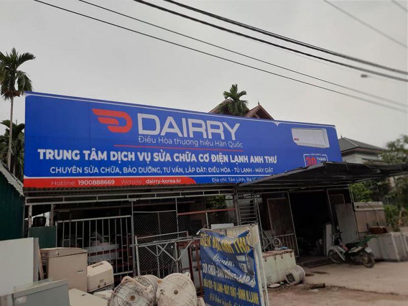 Trung tâm dịch vụ sửa chữa cơ điện lạnh Anh Thư
