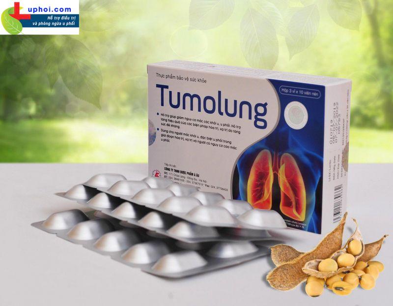 Tumolung - Giải pháp nâng cao hiệu quả của các biện pháp hóa trị, xạ trị, phẫu thuật, tăng cường sức đề kháng, giảm nguy cơ mắc các loại khối u, đặc biệt là u phổi