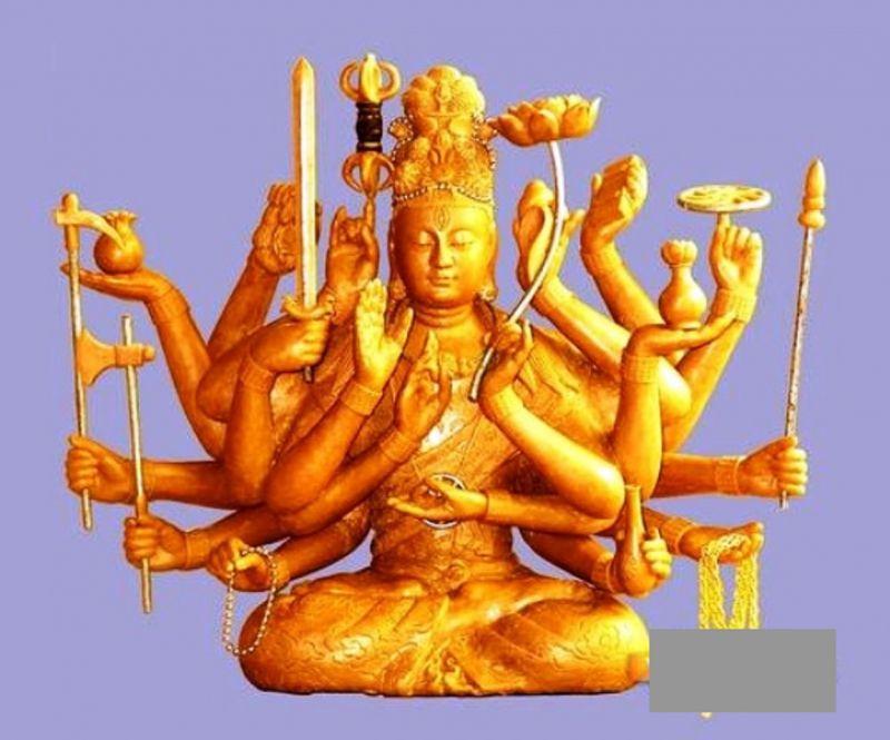 Tượng Phật, thần